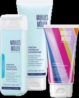 Marlies Möller Moisture Marine Set 3 = Marine Moisture Shampoo + Marine Moisture Conditioner + Micelle Pre-Shampoo