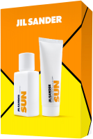 Jil Sander Sun Set = E.d.T. Nat. Spray 75 ml + Shower Gel 75 ml