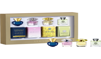 Versace Miniaturen Set = Yellow Diamond 5 ml + Bright Crystal 5 ml + Versense 5 ml + Dylan Blue 5 ml