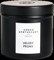 Urban Apothecary Velvet Peony Luxury Scented Travel Candle