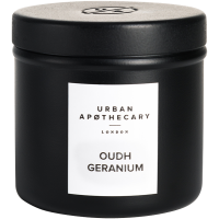 Urban Apothecary Oudh Geranium Luxury Scented Travel Candle