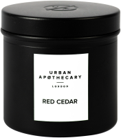 Urban Apothecary Red Cedar Luxury Scented Travel Candle