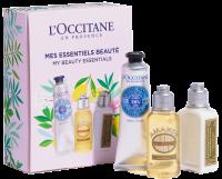 L'Occitane Kleine Freuden Set = Verbene Körpermilch 30 ml + Mandel Duschöl 35 ml + Shea Handcreme 30 ml