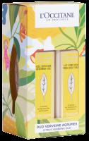L'Occitane Sommer-Verbene Körperpflege-Duo Set = Fruchtige Körpermilch 250 ml + Fruchtiges Duschgel 250 ml