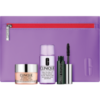 Clinique All About Eyes Value Set = All About Eyes 15 ml + Take The Day Off Makeup Remover 30 ml + High Impact Mascara 3,5 ml
