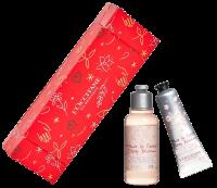 L'Occitane Kirschblüte Geschenkbonbon Xmas 20 Set = Handcreme 30 ml + Duschgel 35 ml