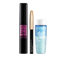Lancôme Monsieur Big X-Mas Set = Monsieur Big Mascara 01 Black 6,5 ml + Mini Crayon Khôl + Mini BiFacil 30 ml