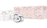 Bvlgari Omnia Crystalline Entry Set = E.d.T. Nat. Spray 40 ml + Bath & Shower Gel 40 ml +  Body Lotion 40 ml