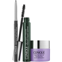 Clinique High Impact Favorites Set = High Impact Mascara 7 ml + Take The Day Off Cleansing Balm 15 ml + Quickliner for Eyes 0,14 g Intense Ebony