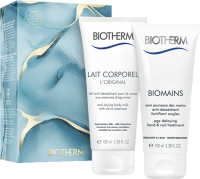 Biotherm Biomains Holiday Set = Biomains 100 ml + Lait Corporel 100 ml