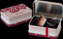 Da Vinci Kabuki Foundation-/Puderpinsel in Reisebox