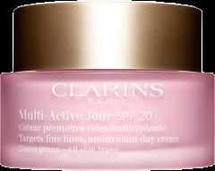Clarins Multi-Active Jour Crème Premières Rides Antioxidante TP SPF 20