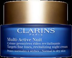 Clarins Multi-Active Nuit Crème Premières Rides Rentalisante PN/PS