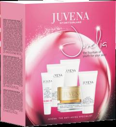 Juvena Juvelia Nutri-Restore Set = Nutri-Restore Serum + Nutri-Restor Fluid + Nutri-Restore Cream + Nutri-Restore Eye Cream + Nutri-Restore Decollete Conc.