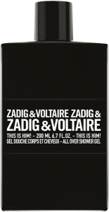 Zadig & Voltaire This is Him! All Over Shower Gel