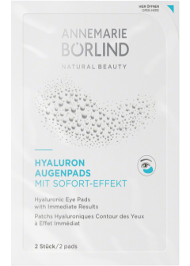 Annemarie Börlind Hyaluron Augenpads mit Sofort-Effekt