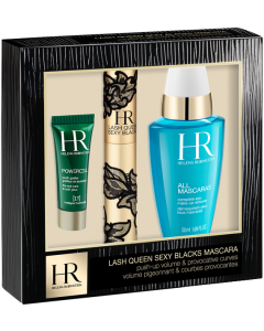 Helena Rubinstein Lash Queen Sexy Blacks Coffret = Lash Queen Sexy Blacks + All Mascaras! Complete Eye Make-Up Remover + Powercell The Eye Care