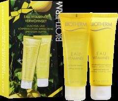 Biotherm Eau Vitaminée Verwöhnset = Gel Douche + Lait Rafraîchisant