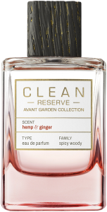 Clean Reserve Avant Garden Collection Hemp & Ginger E.d.P. Nat. Spray