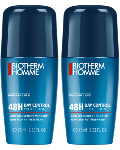 Biotherm Homme Day Control 48h Deodorant Roll-On Duo