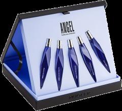 Mugler Angel Star Collection Set = Angel EdP 10 ml + Angel Muse EdP 10 ml + Angel EdT 10 ml + Angel Sucrée 10 ml + Angel Étoile des Rêves 10 ml
