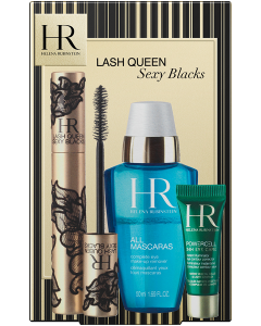 Helena Rubinstein Coffret = Lash Queen Sexy Blacks 6,5 ml + All Mascaras! Complete Eye Make-Up Remover 50 ml + Powercell The Eye Care 3 ml
