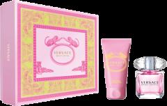 Versace Bright Crystal Set = E.d.T. Nat. Spray 30 ml + Perfumed Body Lotion 50 ml