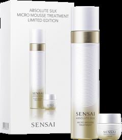 Sensai Absolute Silk Set = Micro Mousse Treatment 90 ml + Cream 6 ml