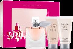 Lancôme La vie est Belle X-Mas Set = E.d.P. Vapo 30 ml + Lait Corps 50 ml + Gel Douche 50 ml