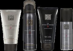Rituals The Ritual of Samurai Invigorating Treat = Shower 50 ml + Ice Shower 70 ml + Shave 70 ml + Deo 50 ml