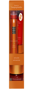 Rituals The Ritual of Happy Buddha Try Me Set = Shower 50 ml + Cream 70 ml + Scrub 125 g