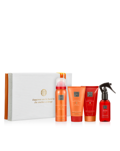 Rituals The Ritual of Happy Buddha Energising Treat = Shower 50 ml + Cream 70 ml + Scrub 70 ml + Parfum 50 ml