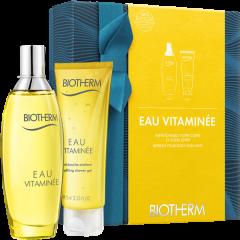 Biotherm Eau Vitaminée Set = Spray de Fraîcheur 100 ml + Gel Douche 75 ml