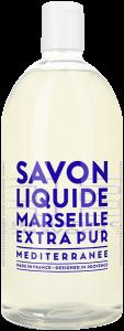 Compagnie de Provence Extra Pur Liquid Marseille Soap Mediterranean Sea Refill