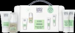 Dado Sens Sensacea Kennenlern-Set = Reinigungsgel 25 ml + Intensivserum 15 ml + Gesichtsemulsion 15 ml + Gesichtsmaske 15 ml