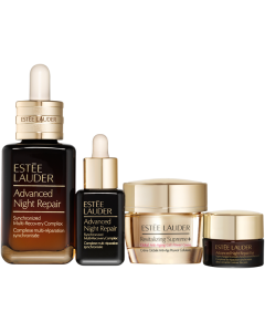 Estée Lauder Advanced Night Repair Set = Adv.Night Repair 50 ml +  Adv. Nigth Repair 7 ml +  Supreme+ Cell Pow. Creme 15 ml + Eye Supercha. Complex 5 ml