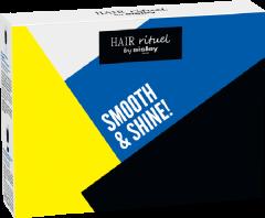 Hair Rituel by Sisley Kit Decouverte Smooth & Shine = Soin Lav. Revit. Disciplinant 50 ml + Cr. Démêlante Restruct. 50 ml +  L'Huile Précieuse Cheveux 20 ml