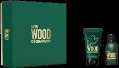 Dsquared2 Perfumes Green Wood Set =  E.d.T. Nat. Spray 30 ml + Shower Gel 50 ml