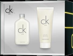 Calvin Klein CK One Set = E.d.T. Nat. Spray  50 ml + Body Wash 100 ml