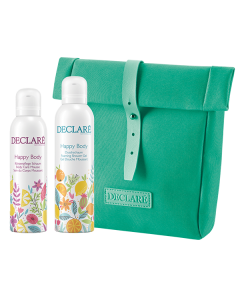 Declaré Happy Body Set 17 = Happy Body Duschschaum 200 ml + Happy Body Körperpflege Schaum 200 ml + Necessaire türki