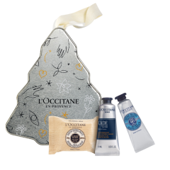 L'Occitane Pour Homme Cade Weihnachtsbaum Xmas 20 Set = Energizing Fluid 10 ml + Seife 25 g + Handcreme 10 ml