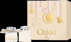 Chloé Xmas Set = E.d.P. Nat. Spray 50 ml + Body Lotion 100 ml