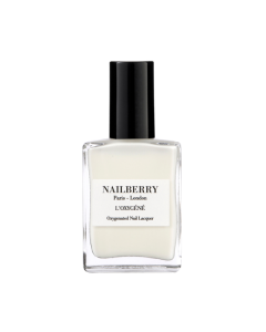 Nailberry Nail Polish White Mist