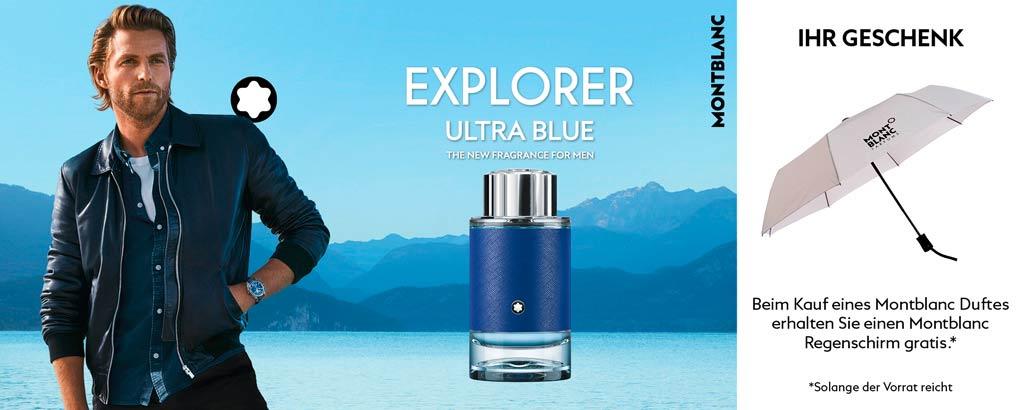Jetzt entdecken - Montblanc Explorer Ultra Blue