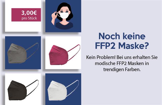 FFP2 Masken in trendigen Farben - jetzt entdecken!