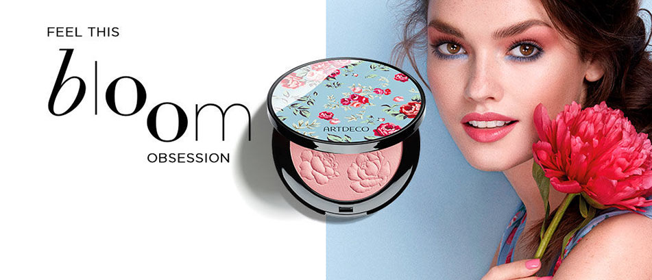 Artdeco Look: Feel this bloom obsession