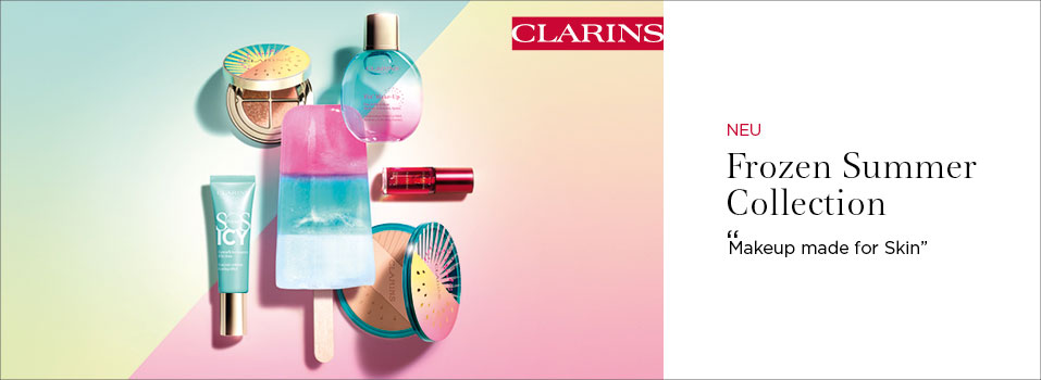 Clarins aktuelle Make-up Kollektion