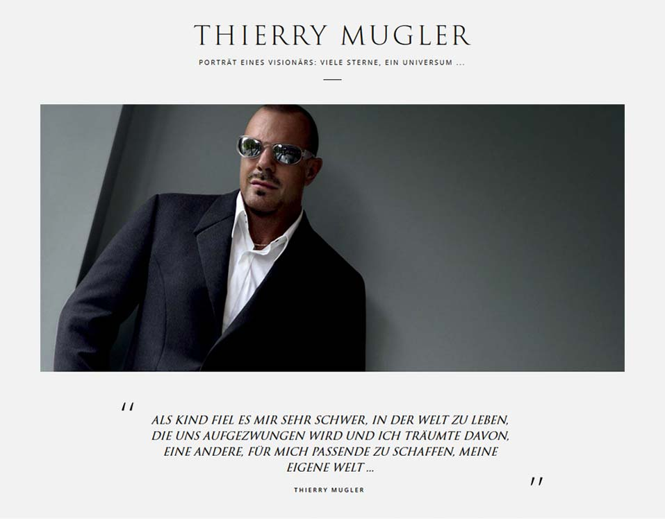MUGLER - Die Marke