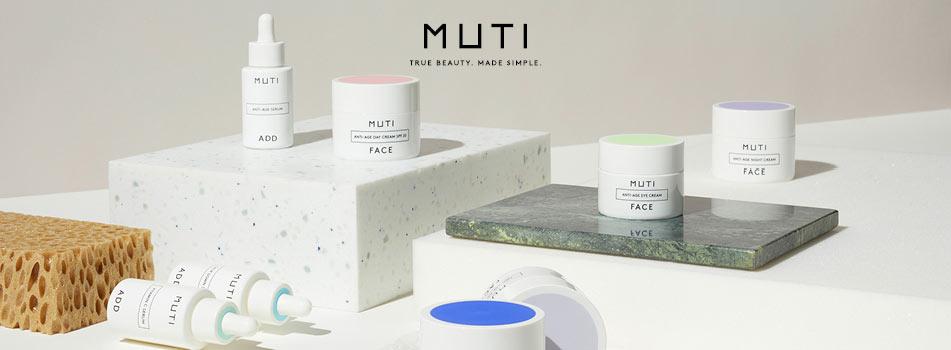 MUTI Gesichtspflege-Produkte